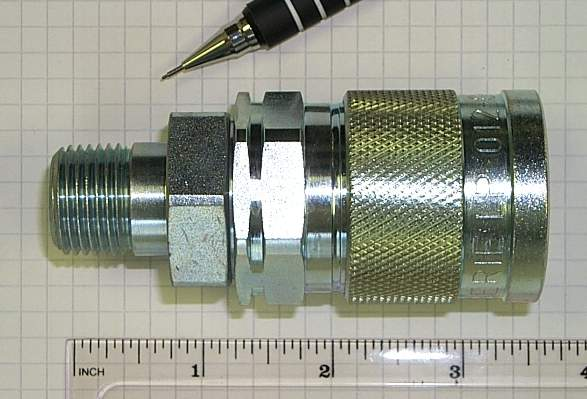 Details about  /WALTHER-PRECISION KL-012 Self Sealing Coupling with closure nipples and fittings