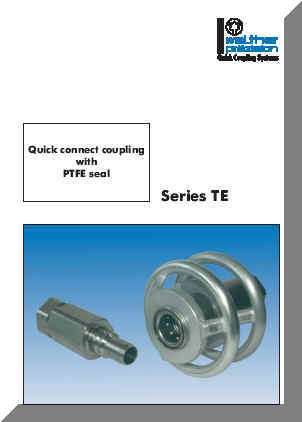 Series TE Catalog Cover