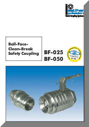 Series BF-025 and BF-050 Catalog Cover