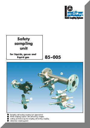Series 85-005 Catalog Cover
