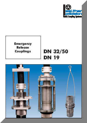 Series DN - Break-away Couplings Catalog Cover